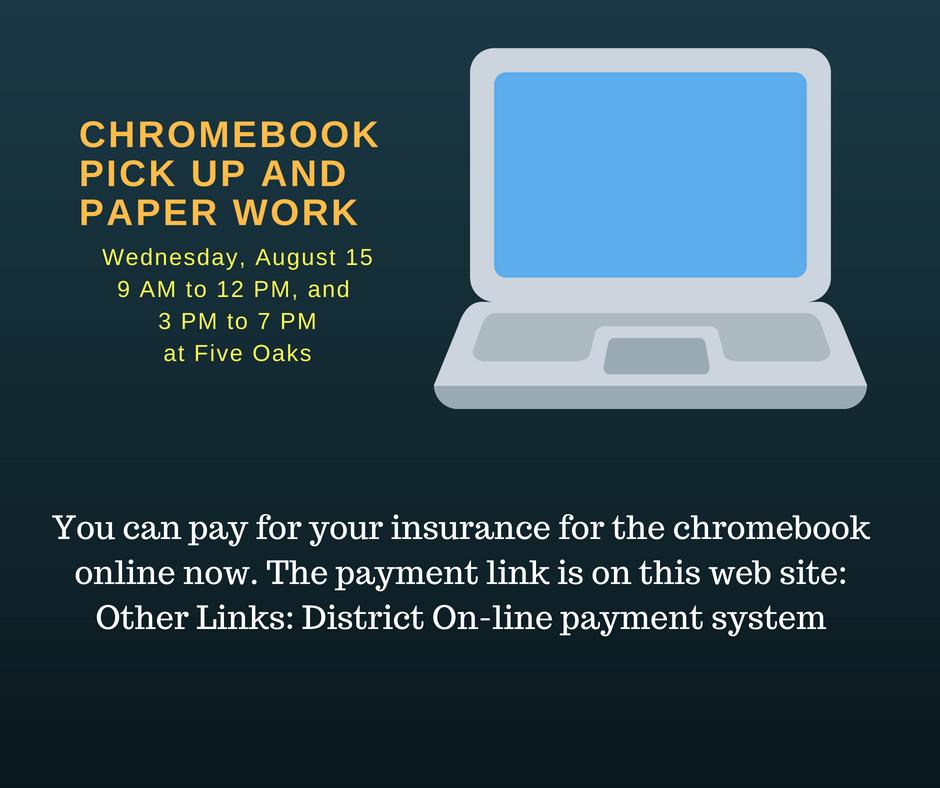 chromebook pick up